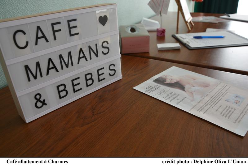 Café Allaitement à Charmes - Avec Émilie JOLY