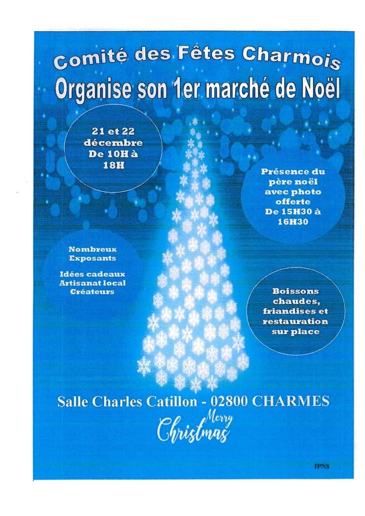 Marché de Noël à Charmes   Ville de Charmes