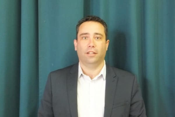 02 - M. Nicolas THIBEUF, 1er Adjoint au Maire - Commune de Charmes 02800