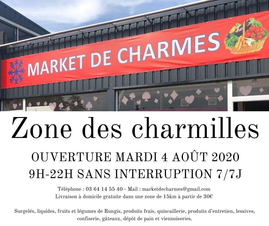 Market de Charmes - Mairie Charmes Aisne