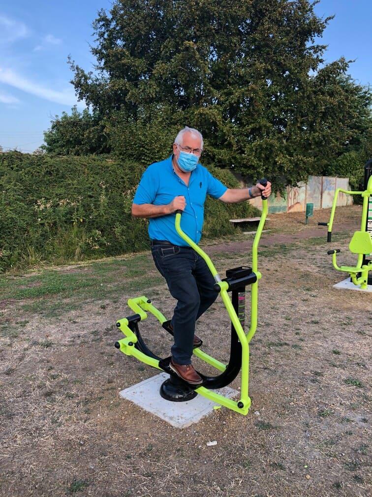 Reception des aires de jeux de fitness #01- Commission de travaux - Mairie Charmes Aisne