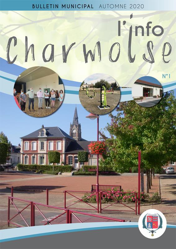 L'info Charmoise N°1 - Bulletin municipal automne 2020 - Mairie Charmes Aisne