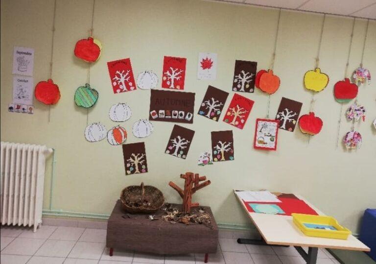 Périscolaire décorations automnales et d'halloween_Mairie Charmes Aisne