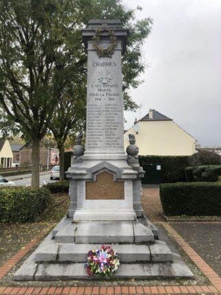 Cérémonie du 11 Novembre 2020 - Mairie Charmes Aisne 05